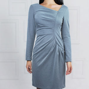 Frieda Dress Grey - dresses