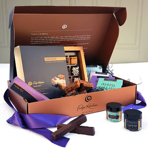Fudge Lovers Hamper - chocolates & confectionery