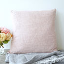 Chambray Pure Linen Cushion Or Throw