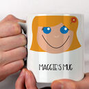 Personalised Girl's Gift Mug