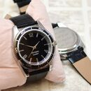 Engraved Quartz Wrist Watch With Rotating Timer Bezel