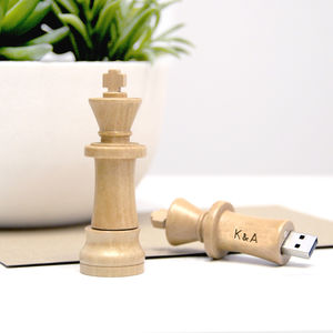 Personalised Chess Piece Usb Stick - personalised