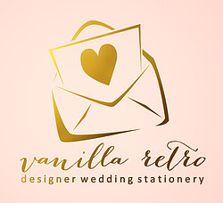 Vanilla Retro Stationery