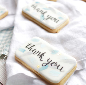 Thank You Sugar Cookies - cakes & sweet treats