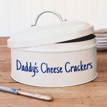 Personalised Dad's Snack Tin