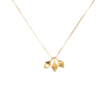 Tiny Rocka Three Kite Necklace