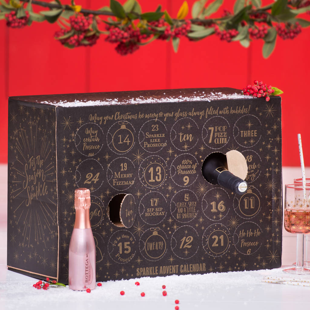 Prosecco Advent Calendar by Thelittleboysroom
