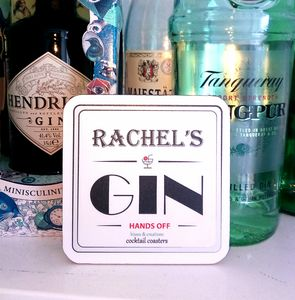 Personalised Cocktail Coaster