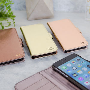 Luxury iPhone Case In Rose Gold Copper Or Light Gold - accessories