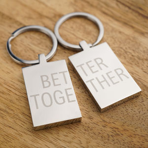 Personalised Keyring Set