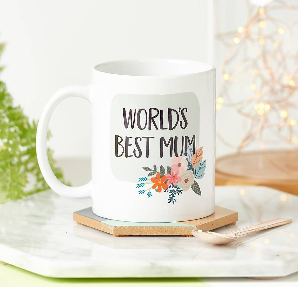 The World's Best Mum/Mummy Mug