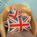 Vintage Union Jack Small Cushion