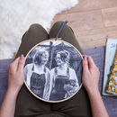 Personalised Mum And Me Photo Hoop