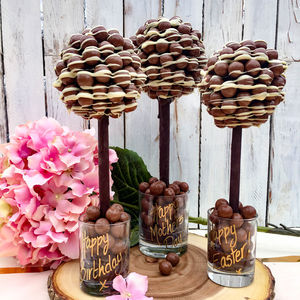 Personalised Malteser Chocolate Edible Tree - novelty chocolates