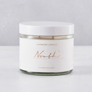 Evermore North Natural Candle 250ml - home accessories