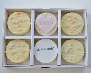 Will You Be My Bridesmaid? Candy Covered Oreo Box