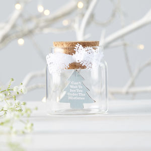 Personalised Vintage Christmas Message Bottle