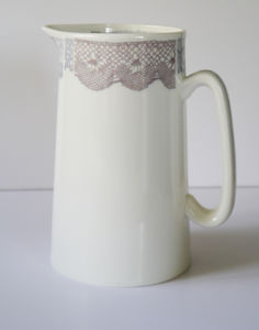 Bone China Lace Jug