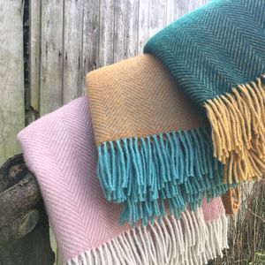 Wool Throw Assorted Colours - feeling cosy - hygge home ideas