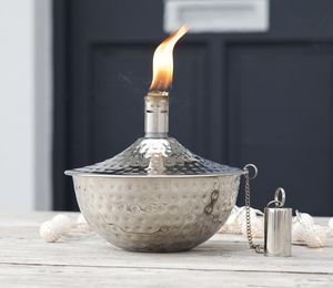 Garden Oil Lamp Choose Copper Or Silver