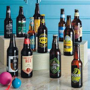Case Of 12 Best Of British Beers - 30th birthday gifts
