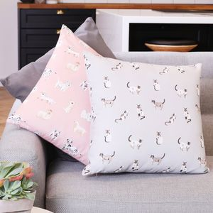 Illustrated Animal Cushion - children's cushions