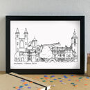 St Andrews Skyline Art Print Unframed