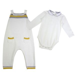 Baby French Designer Knitted Two Piece Set