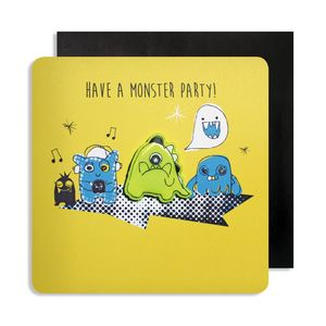 Birthday Monster Jelly Magnet Cards