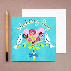 'Doves Or Mice Card', Engagement/ Wedding Cards