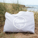 Beach For Days Slogan Beach Bag