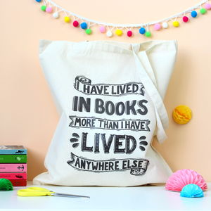 Neil Gaiman Quote Tote Bag - women's accessories