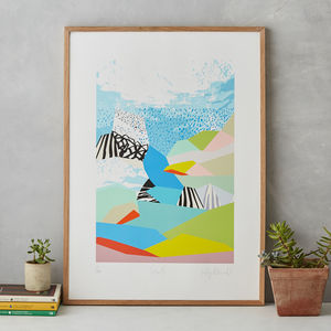 Tahiti Landscape Print
