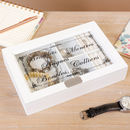 Personalised Wooden Jewellery Storage Box
