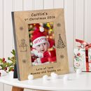 Baby's 1st Christmas Photo Frame