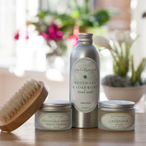 Happier Hands Organic Treatment Kit - grooming gift sets