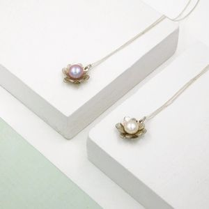 Sterling Silver And Freshwater Pearl Necklace - necklaces & pendants