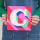 Letter 'C' Alphabet Tapestry Kit