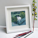 Bespoke Pet Portrait Oil Painting