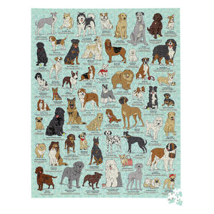 Dog Lovers 1000 Piece Jigsaw Puzzle In A Tin