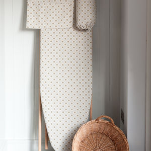 Garden Ochre Grey Ironing Board Cover
