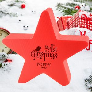 1st Christmas Star Decoration - whatsnew