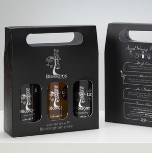 Continental Premium Syrups Gift Box With Recipe Cards - Juices