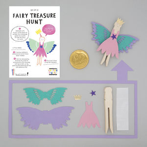 Make Your Own Fairy Peg Doll Kit - wedding day activities