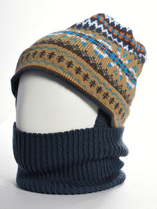 Jig Jag Merino Wool Balaclava - hats, scarves & gloves