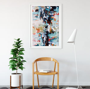 Large Modern Abstract Art Print From Original Painting