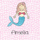 Mermaid Personalised Children's Print