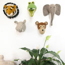 Felt Animal Head Wall Mounts