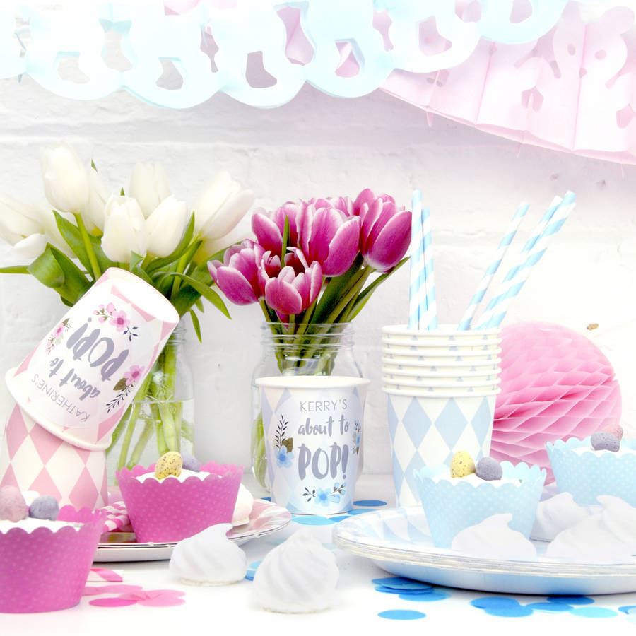 Baby shower party decoration collection by peach blossom for Baby shower decoration set