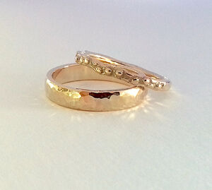 Solid 9ct Gold Stacking Ring Set